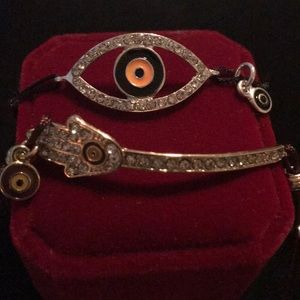 Set of Evil Eye Bracelets